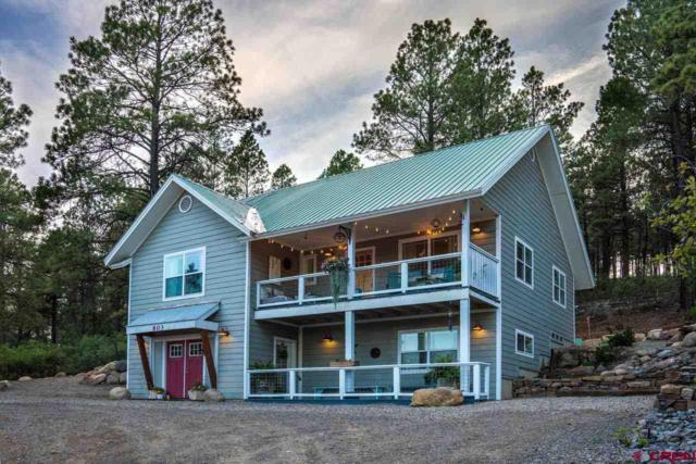 803 Aspenglow Boulevard, Pagosa Springs, CO 81147 (MLS #749611) :: CapRock Real Estate, LLC
