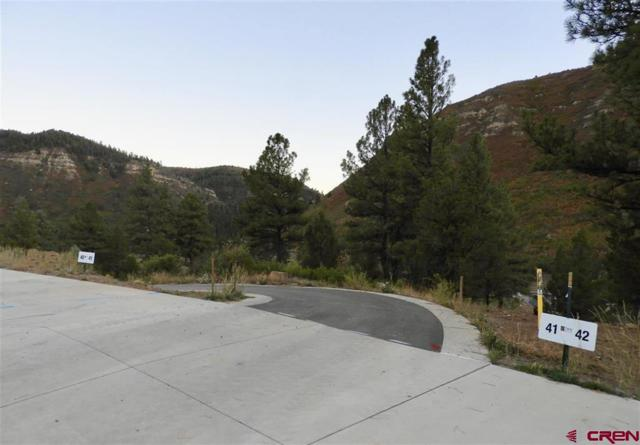 89 (Lot 41) Wood Rose Lane, Durango, CO 81301 (MLS #750745) :: Durango Mountain Realty