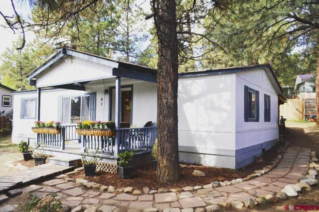 41 Moss Road Trail, Durango, CO 81303 (MLS #750847) :: Keller Williams CO West / Mountain Coast Group