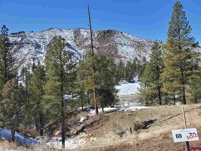 (Lot 69) 59 Arnica Court, Durango, CO 81301 (MLS #751208) :: Durango Mountain Realty