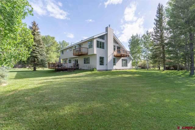 475 Monte Vista Drive, Gunnison, CO 81230 (MLS #770634) :: The Dawn Howe Group | Keller Williams Colorado West Realty