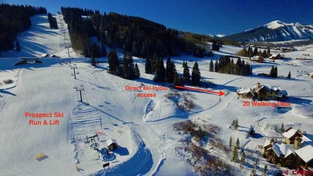20 Walking Deer Lane, Mt. Crested Butte, CO 81225 (MLS #777377) :: The Dawn Howe Group | Keller Williams Colorado West Realty