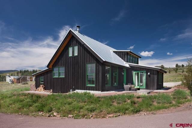 221 Rue La Fong, Creede, CO 81130 (MLS #777499) :: The Dawn Howe Group   Keller Williams Colorado West Realty