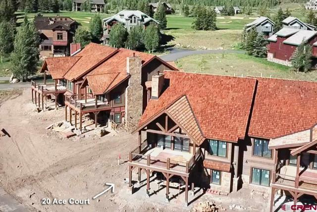 20 Ace Court, Crested Butte, CO 81224 (MLS #747242) :: The Dawn Howe Real Estate Network | Keller Williams Colorado West Realty