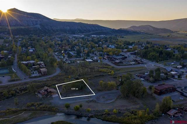 Lot 10 Liddell Drive, Ridgway, CO 81432 (MLS #772655) :: The Dawn Howe Group | Keller Williams Colorado West Realty