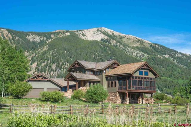 267 Squaw Gulch Lane, Crested Butte, CO 81224 (MLS #742256) :: Durango Home Sales