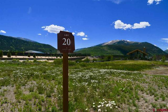 130 Pyramid Avenue, Crested Butte, CO 81224 (MLS #737106) :: The Dawn Howe Group | Keller Williams Colorado West Realty