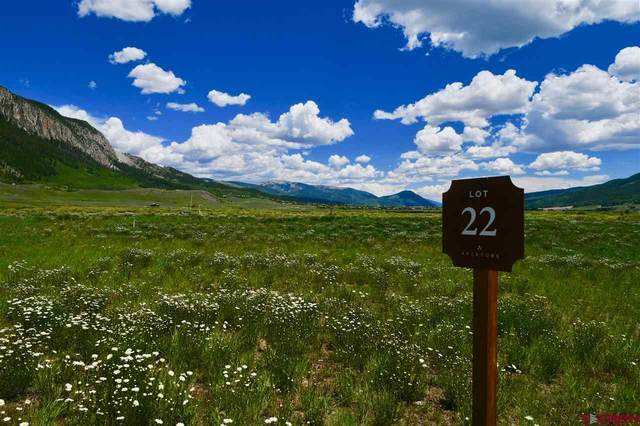 20 Aperture Lane, Crested Butte, CO 81224 (MLS #737109) :: The Dawn Howe Group | Keller Williams Colorado West Realty
