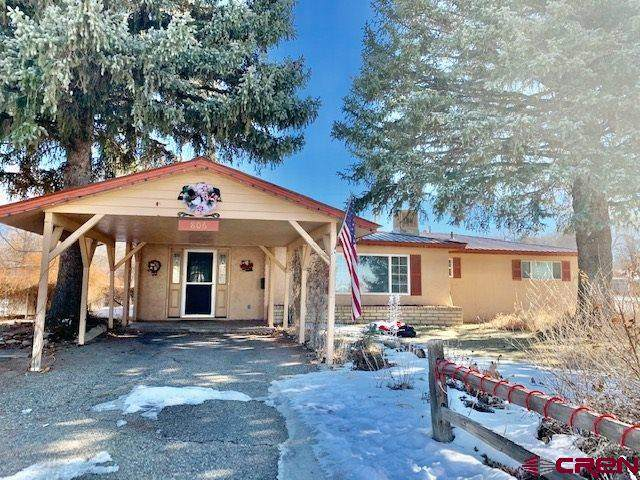 806 Ridge Drive, Cortez, CO 81321 (MLS #777609) :: The Dawn Howe Group | Keller Williams Colorado West Realty