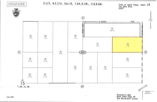 5 On Central Rd., S. Of Quarry Road, Apple Valley, CA 92307 (#SR19145879) :: Randy Plaice and Associates
