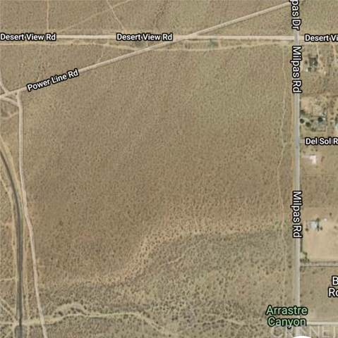 0 Unknown, Apple Valley, CA  (#SR19221487) :: Randy Plaice and Associates