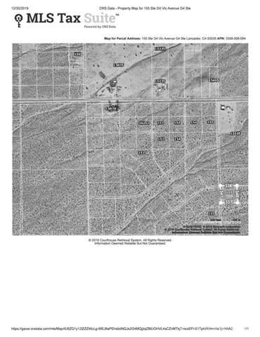 155 E Vac/155 Ste Drt /Vic Avenue G4 Street E, Roosevelt, CA 93535 (#SR20002057) :: Randy Plaice and Associates