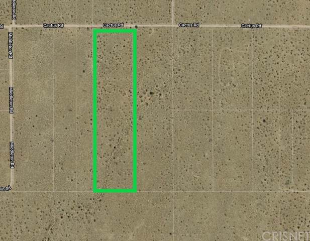0 Cactus Road, Adelanto, CA 92301 (#SR20006334) :: The Parsons Team