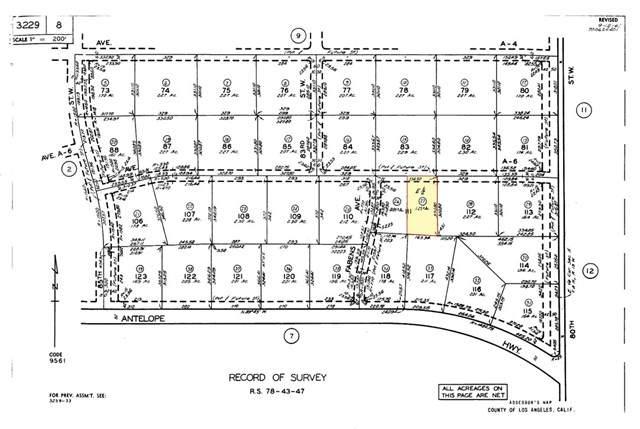 81 W Avenue A-6, Antelope Acres, CA 93536 (#SR20067040) :: Randy Plaice and Associates