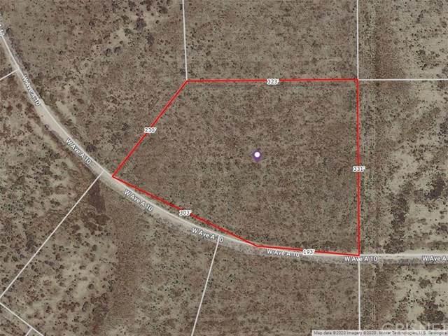 75 W Ave. A-10, Antelope Acres, CA 93536 (#SR20074475) :: Randy Plaice and Associates