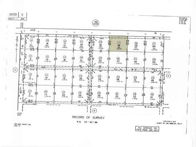 76 W Ave B, Antelope Acres, CA 93536 (#SR20074655) :: The Parsons Team