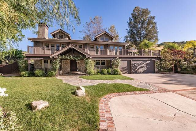 3725 Medea Creek Road, Agoura Hills, CA 91301 (#220004896) :: SG Associates