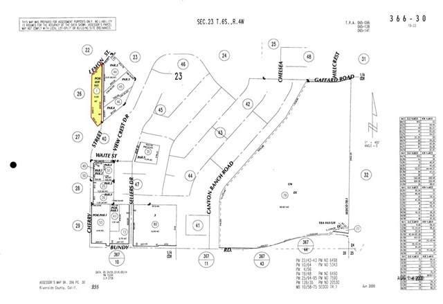 0 Lemon St. And Cherry Street, Wildomar, CA 92595 (#SR20101846) :: SG Associates
