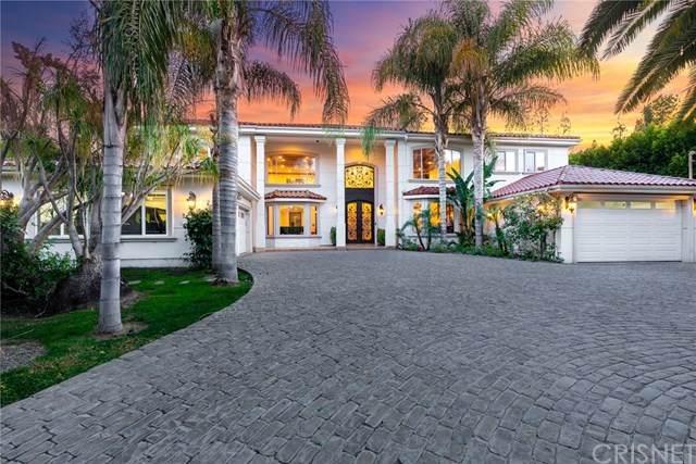 16020 Valley Vista Boulevard, Encino, CA 91436 (#SR20128979) :: SG Associates