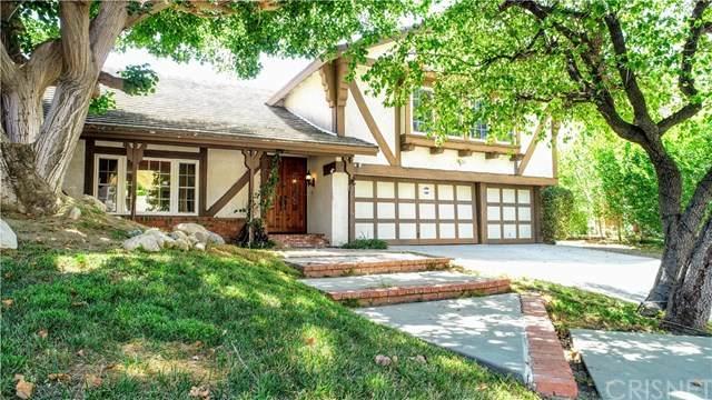 11945 Calle Vista Court, Porter Ranch, CA 91326 (#SR20120463) :: Randy Plaice and Associates