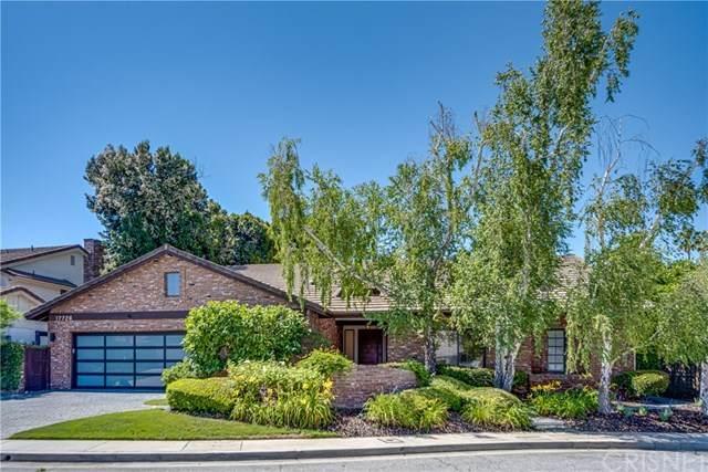 17726 Royce Drive W, Encino, CA 91316 (#SR20132270) :: Randy Plaice and Associates