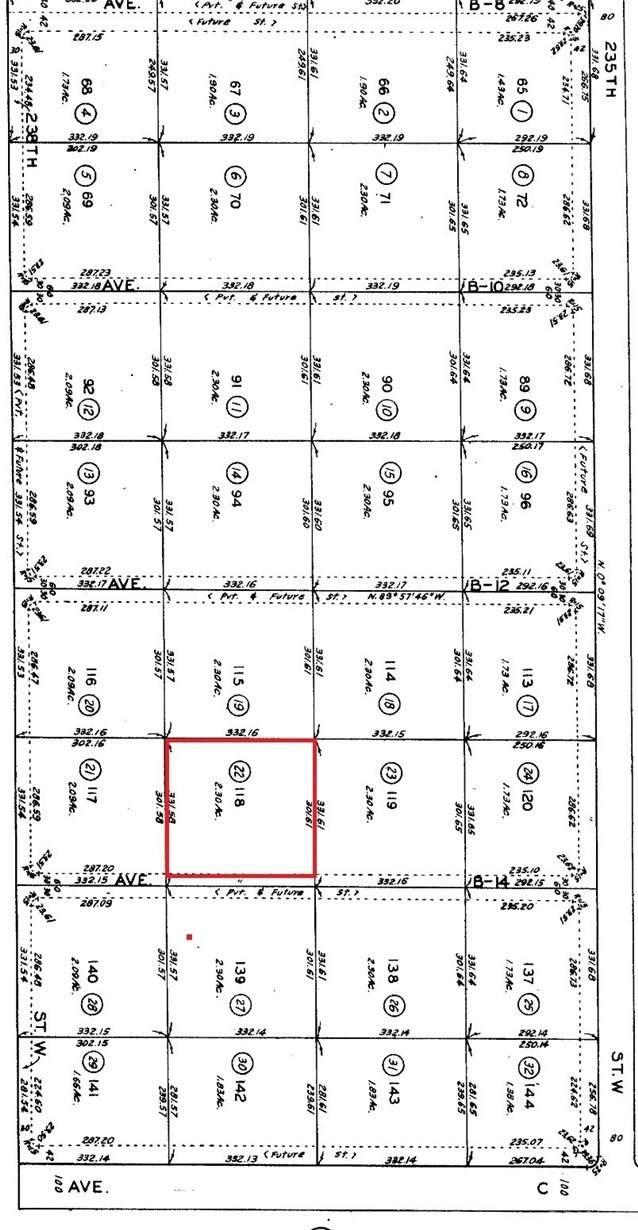 0 Avenue B14 And 236th St West, Neenach, CA 93536 (#SR20132939) :: Randy Plaice and Associates