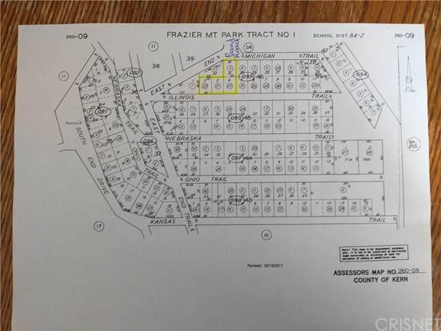 3516 Michigan &  Illinois Trail, Frazier Park, CA 93225 (#SR20147873) :: Randy Plaice and Associates
