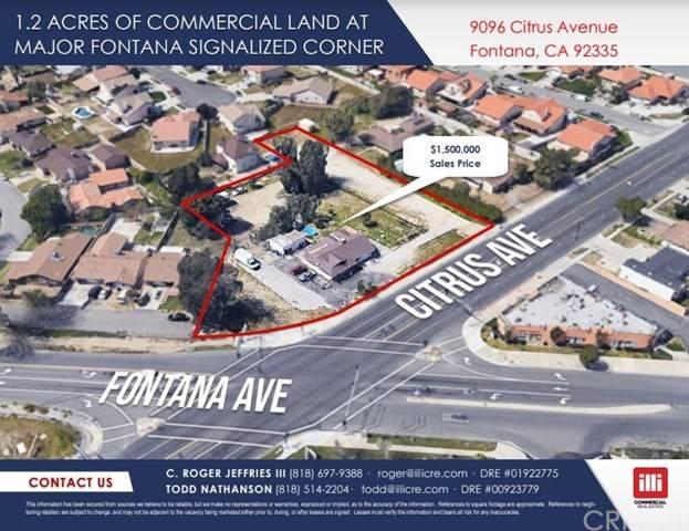 9096 Citrus Avenue, Fontana, CA 92335 (#SR20165812) :: Compass