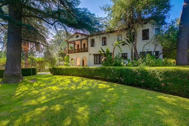 205 S Lomita Avenue, Ojai, CA 93023 (#V0-220009306) :: Randy Plaice and Associates
