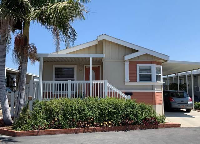 10685 Blackburn Road #36, Ventura, CA 93004 (#220009431) :: Compass