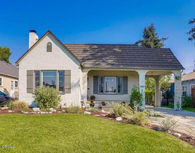 2685 E Villa Street, Pasadena, CA 91107 (#P1-1470) :: Randy Plaice and Associates
