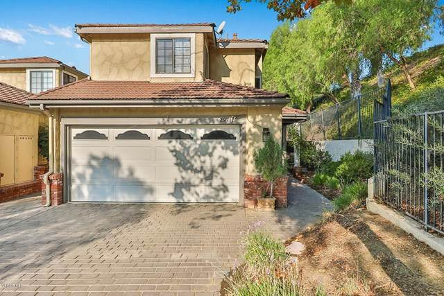 29711 Strawberry Hill Drive, Agoura Hills, CA 91301 (#220010013) :: TruLine Realty