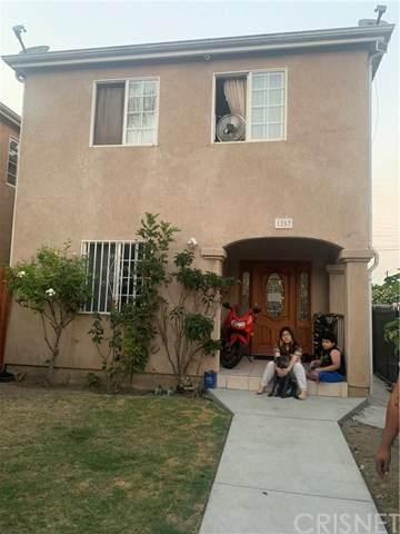 1257 E 100th Street, Los Angeles, CA 90002 (#SR20203609) :: TruLine Realty