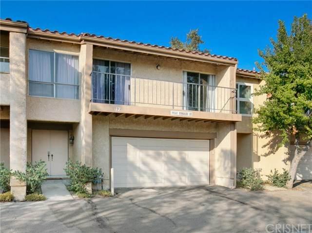 19561 Rinaldi Street #12, Porter Ranch, CA 91326 (#SR20214822) :: The Parsons Team