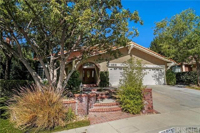 18919 Granada Circle, Porter Ranch, CA 91326 (#SR20227965) :: Arzuman Brothers
