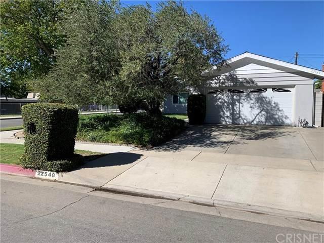 22549 Espuella Drive, Saugus, CA 91350 (#SR20228691) :: Randy Plaice and Associates