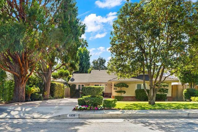 1030 Fairview Drive, La Canada Flintridge, CA 91011 (#P1-2090) :: TruLine Realty