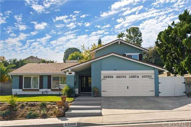 23016 Cerca Drive, Valencia, CA 91354 (#SR20244308) :: Randy Plaice and Associates