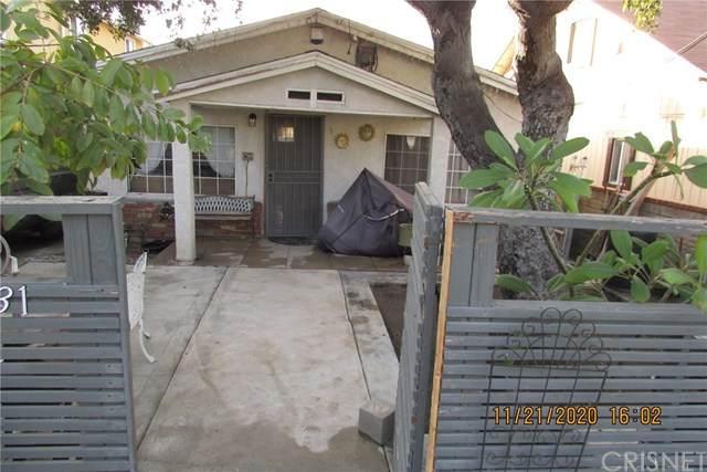10231 Whitegate Avenue, Sunland, CA 91040 (#SR21004857) :: The Parsons Team