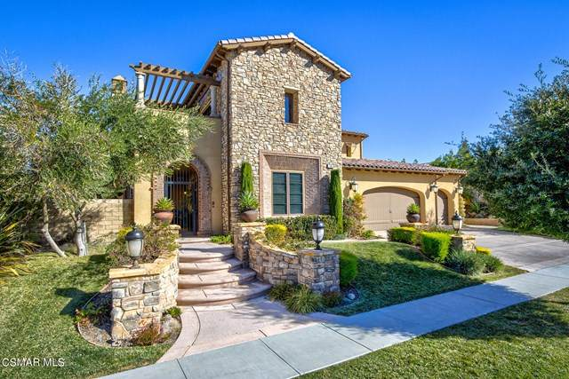 796 Via Sedona, Newbury Park, CA 91320 (#221000124) :: The Parsons Team