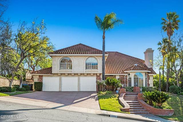5460 Bromely Drive, Oak Park, CA 91377 (#221000241) :: TruLine Realty