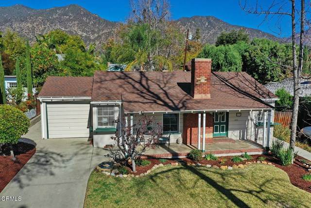 177 Lowell Avenue, Sierra Madre, CA 91024 (#P1-3056) :: The Parsons Team