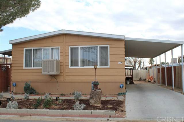 3300 15th Street W #152, Rosamond, CA 93560 (#SR21019815) :: The Grillo Group