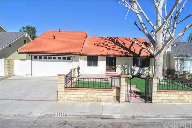 25636 Chimney Rock Road, Valencia, CA 91355 (#SR21031015) :: TruLine Realty
