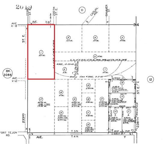 0 233rd St East And Avenue X8, Llano, CA 93544 (#SR21036151) :: The Grillo Group