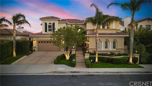 20112 Via Cellini, Porter Ranch, CA 91326 (#SR21037050) :: The Grillo Group