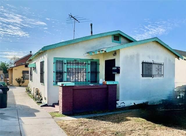 224 W 84th Street, Los Angeles, CA 90003 (#SR21038119) :: Berkshire Hathaway HomeServices California Properties