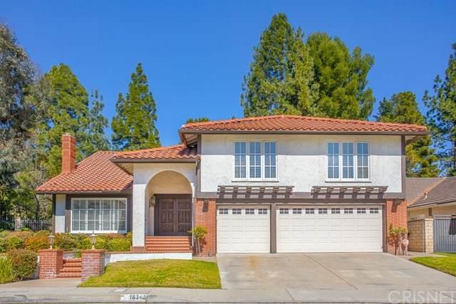 18345 Sandringham Court, Porter Ranch, CA 91326 (#SR21036657) :: The Grillo Group
