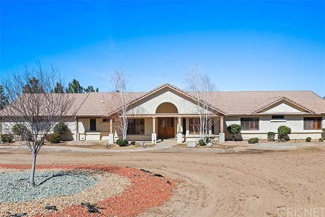 2515 Trails End Road, Acton, CA 93510 (#SR21039650) :: HomeBased Realty