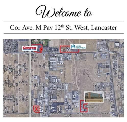 0 Vac/Cor Avenue M Pav /12Th Stw, Lancaster, CA 93543 (#SR21043060) :: Berkshire Hathaway HomeServices California Properties
